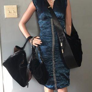 Black Suede Bag Bundle